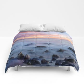 sunset 5 comforter by beachlovedecor