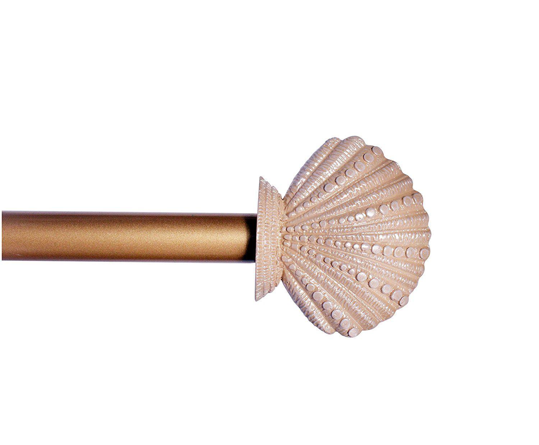 Seashell Curtain Rods