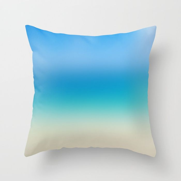Hawaiian Abstract Ocean Throw Pillow Cover Cotton Surf Coastal Beach House Decor Decorative Case Sea Bedding 5 Sizes