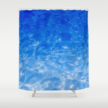 blueseashowercurtain