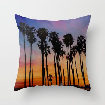 palmsunsetpillowcover